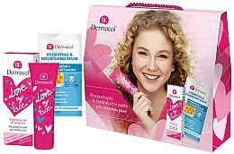 Parfums et Produits cosmétiques Set soin visage - Dermacol Love My Face (crème/50ml + masque/15ml)