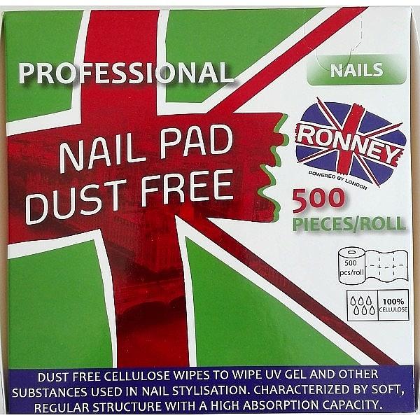 Rouleau de cotons pour ongles, 500 pcs - Ronney — Photo N2