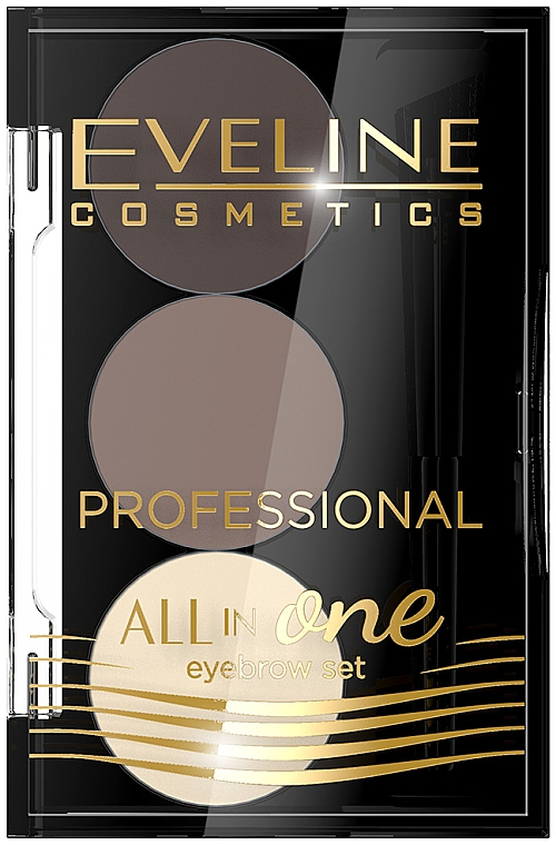 Kit de maquillage et coiffage des sourcils - Eveline Cosmetics All In One Eyebrow Styling Set
