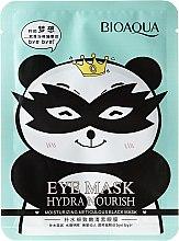 Parfums et Produits cosmétiques Masque en tissu anti-cernes contour des yeux - Bioaqua Eye Mask Hydra Nourish