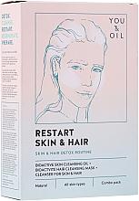 Parfums et Produits cosmétiques Traitement pour visage et cheveux - Restart Skin & Hair. 3 in 1 Bundle