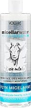 Parfums et Produits cosmétiques Eau micellaire hydratante au lait de chèvre - Vollare Goat's Milk Micellar Water Hedra Hyaluron