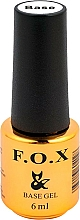 Parfums et Produits cosmétiques UV Base coat - F.O.X Base Strong Gel