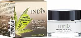 Parfums et Produits cosmétiques Crème de jour et nuit à l'huile de chanvre - India Face Cream With Cannabis