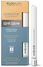 Parfums et Produits cosmétiques Stick correcteur de teint antibactérien - FlosLek Anti Acne Program Corrector