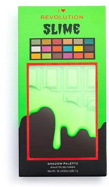 Palette professionnelle de fards à paupières - I Heart Revolution Eyeshadow Slime Chocolate Palette — Photo N4