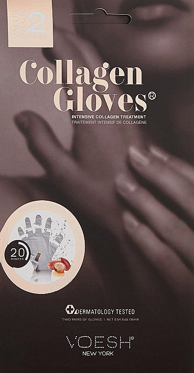 Gants au collagène - Voesh Collagen Gloves Value Pack