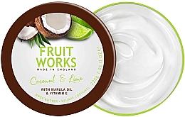Parfums et Produits cosmétiques Beurre pour corps, Noix de coco et lime - Grace Cole Fruit Works Body Butter Coconut & Lime