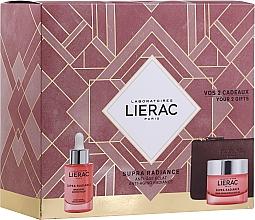 Parfums et Produits cosmétiques Lierac Supra Radiance - Coffret cadeau (sérum/30ml + crème/50ml + trousse de toilette)