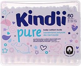 Parfums et Produits cosmétiques Coton-tiges, 60 pcs - Cleanic Kids Care Cotton Buds