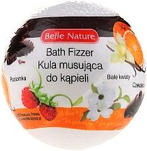 Parfums et Produits cosmétiques Bombe de bain effervescente, blanc - Belle Nature