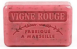 Parfums et Produits cosmétiques Savon végétal de Marseille, Vigne - Foufour Savonnette Marseillaise Vigne Rouge