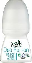 Parfums et Produits cosmétiques Déodorant roll-on, sans parfum - Gron Balance Deo Roll-On