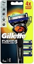 Parfums et Produits cosmétiques Rasoir avec 4 lames de rechange - Gillette Fusion5 ProGlide