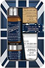 Parfums et Produits cosmétiques Coffret cadeau - Baylis & Harding Fuzzy Duck Men's Ginger & Lime (b/wax/50g + soap/25g + b/sh/100ml + balm/30ml)