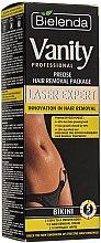 Parfums et Produits cosmétiques Kit crème dépilatoire + lingettes post-épilation - Bielenda Vanity Laser Expert (crème/100ml + lingettes/2x5g + spatule)
