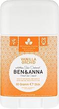 Parfums et Produits cosmétiques Déodorant stick naturel au bicarbonate de soude Vanille - Ben & Anna Natural Soda Deodorant Vanilla Orchid