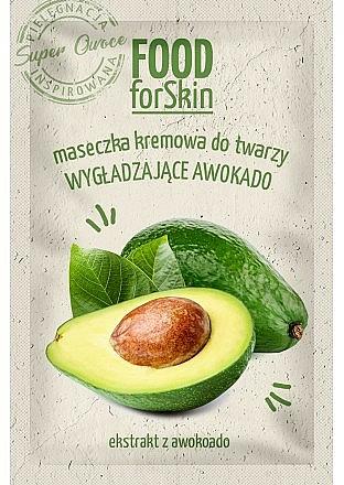 Masque à l'extrait d'avocat pour visage - Marion Food for Skin Cream Mask Smoothing Avocado