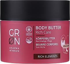 Parfums et Produits cosmétiques Beurre corporel - GRN Rich Elements Shea Body Butter