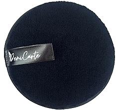 Parfums et Produits cosmétiques Éponge nettoyante, noir - Deni Carte Face Wash Microfiber Black
