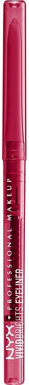 Eyeliner automatique - NYX Professional Makeup Vivid Brights Eyeliner Pride Edition