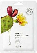 Parfums et Produits cosmétiques Masque à l'extrait de cactus pour visage - Yadah Daily Green Mask Cactus
