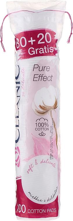 Disques démaquillants, 80+20 pcs - Cleanic Face Care Cotton Pads