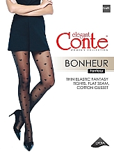 Parfums et Produits cosmétiques Collant pour femme, Fantasy Bonheur, 20 Den, grafit - Conte