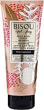 Parfums et Produits cosmétiques Gommage doré à l'extrait de lime pour corps - Bisou Lime&Marine Alga Gold Body Scrub