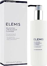 Parfums et Produits cosmétiques Lait nettoyant à la vitamine E pour visage - Elemis Balancing Lime Blossom Cleanser