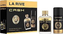 Parfums et Produits cosmétiques La Rive Cash - Set (eau de toilette/100ml + déodorant/150ml)
