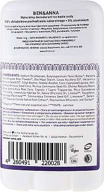 Déodorant stick naturel au bicarbonate de soude Provence - Ben & Anna Natural Soda Deodorant Provence — Photo N2