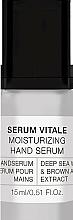 Parfums et Produits cosmétiques Sérum à l'extrait d'algues brunes pour mains - Alessandro International Spa Serum Vitale Moisturizing Hand Serum