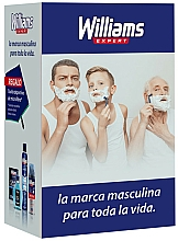 Parfums et Produits cosmétiques Coffret cadeau - Williams (lot/200ml + deo/200ml + foam/200ml + acc)
