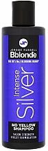 Parfums et Produits cosmétiques Shampooing anti-jaunissements pour cheveux blonds - Jerome Russell Bblonde Intense Silver No Yellow Shampoo