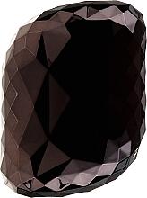 Parfums et Produits cosmétiques Brosse à cheveux compacte, noir et rose - Twish Spiky 4 Hair Brush Diamond Black
