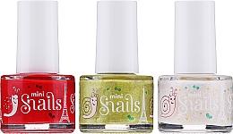 Parfums et Produits cosmétiques Snails Festive Mini - Set (vernis à ongles/3x7ml)