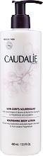 Parfums et Produits cosmétiques Lotion à l'acide hualyronique et beurre de karité bio pour corps - Caudalie Vinotherapie Nourishing Body Lotion
