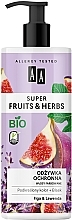 Parfums et Produits cosmétiques Après-shampooing Figue et lavande - AA Super Fruits & Herbs Conditioner Fig & Lavender