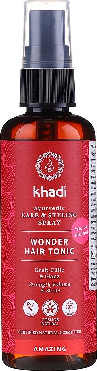 Tonique ayurvédique aux herbes pour cheveux - Khadi Wonder Hair Tonic