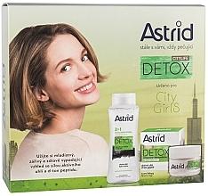 Parfums et Produits cosmétiques Astrid Citylife Detox - Set (crème pour visage/50ml + eau micellaire/400ml)