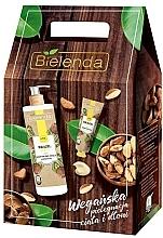 Parfums et Produits cosmétiques Bielenda Brazil Nut - Set (baume pour le corps / 400ml + crème pour les mains / 50ml)