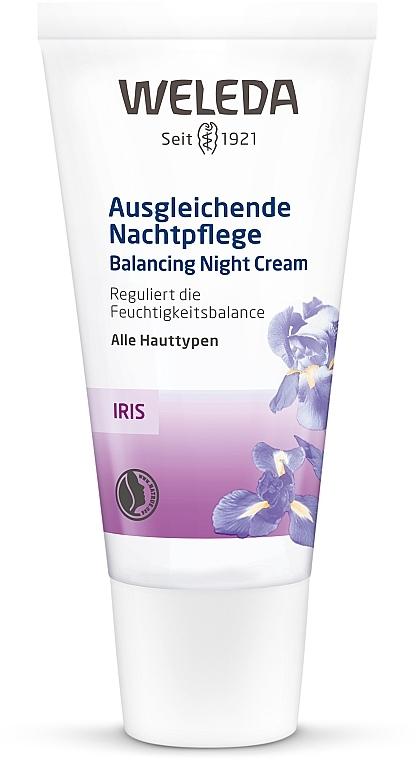 Crème de nuit à l'iris - Weleda Iris Nachtcreme — Photo N1