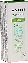 Parfums et Produits cosmétiques BB crème matifiante, SPF 15 - Avon Nutra Effects Matte BB Cream With Willow Leaf And Rice Extract