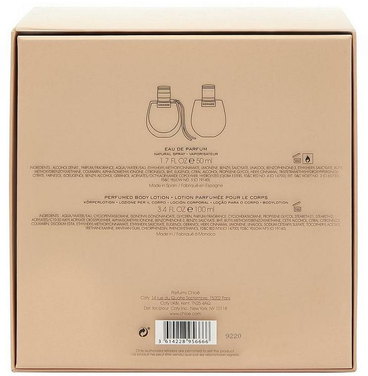 Chloe Nomade - Coffret cadeau (eau de parfum/50ml + lotion corps/100ml) — Photo N3