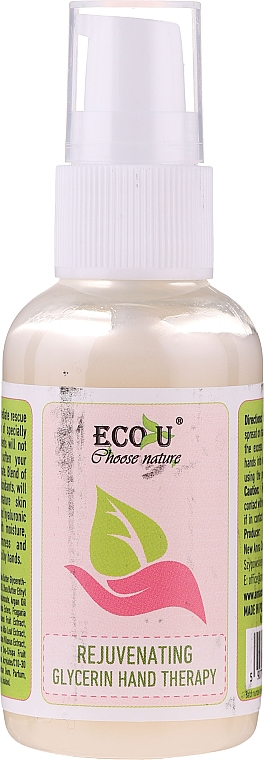 Traitement à la glycérine pour mains - Eco U