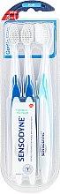 Parfums et Produits cosmétiques Brosses à dents souples, 3 pcs - Sensodyne Gentle Care Soft Toothbruhs