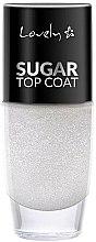 Parfums et Produits cosmétiques Top coat à paillettes - Lovely Sugar Top Coat