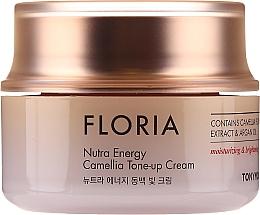 Parfums et Produits cosmétiques Crème à l'extrait de feuilles de camélia et huile d'argan pour visage - Tony Moly Floria Nutra Energy Tone Up Cream