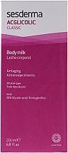 Lait anti-âge à l'acide glycolique pour corps - SesDerma Laboratories Acglicolic Body Milk — Photo N1